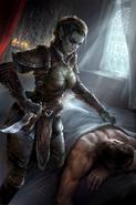 Brotherhood Assassin Card Art