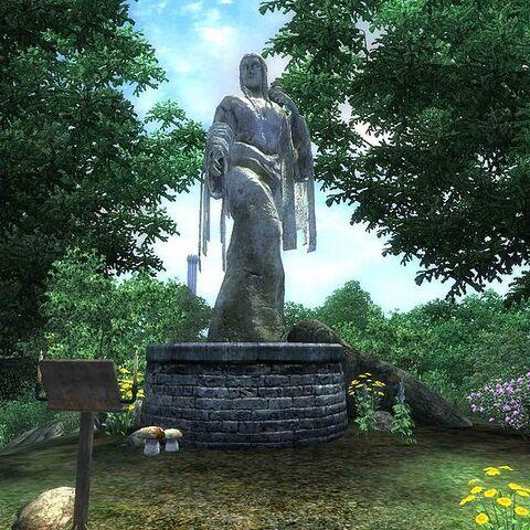 Kaplica Kynareth z gry The ELder Scrolls IV: Oblivion