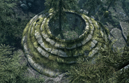 Roadside Ruins Above