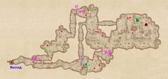 Пещера Нижний Предел - план