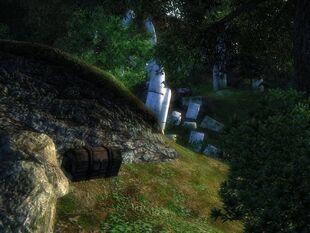 Сундук у камня