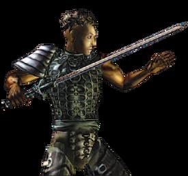 Morrowind - Manual - Redguard