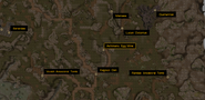 Ashimanu Egg Mine Local Map