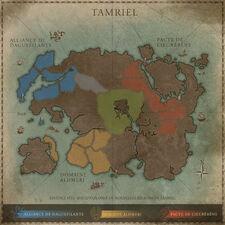 Carte TESO Tamriel