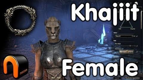 Elder Scrolls Online -- Khajiit Female - Character Creation