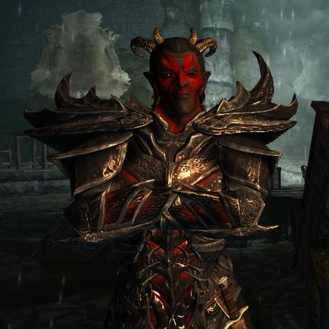 Sanguine, daedryczny książę z gry The Elder Scrolls V: Skyrim