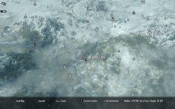Segheria Mixwater - Mappa