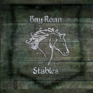 TESIV Sign Bayroan Stables