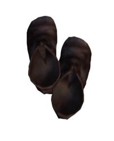 Грубые кожаные туфли