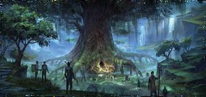 Дерево ковена (концепт-арт)