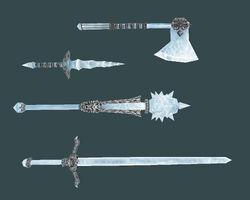 Сталгримовое оружие (Bloodmoon)