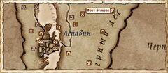 Форт Булворк (Карта)