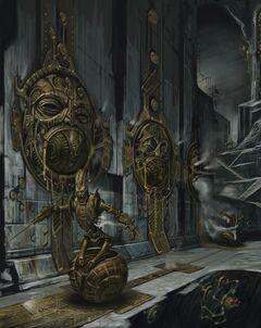 Двемерские руины Двемерская сфера паук