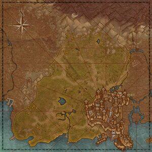 Меневия (карта)