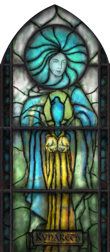 Kynareth Stained Glass