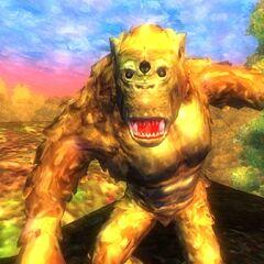 Malowany troll z gry The Elder Scrolls IV: Oblivion