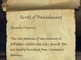 Scroll of Banishment