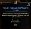 Thulie's Five Card Wisp Master System