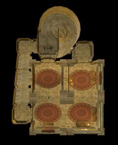 Центральная башня. План