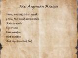 Fair Argonian Maiden
