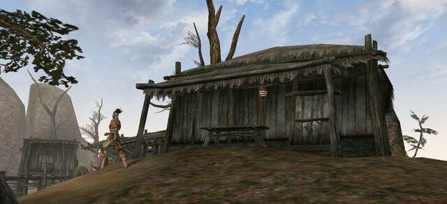 File:TES3 Morrowind - Khuul - Brurid's Shack exterior.jpg