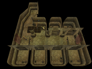 Vivec Arena Holding Cells Overhead View