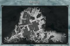 Длинный дом ярла Винтерхолда карта