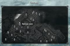Мрачный замок карта