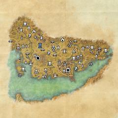 Стормхейвен-Дорожное святилище крепости Огненного Меча-Карта