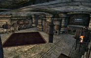 Battlehorn Castle Wine Cellar