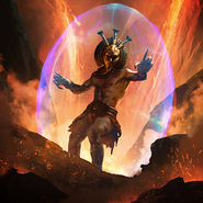Dagoth Ur card art