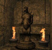 Estatua Grumita