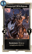 Frenzied Witchman (Legends) DWD