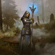 Recruit (High Elf) card art