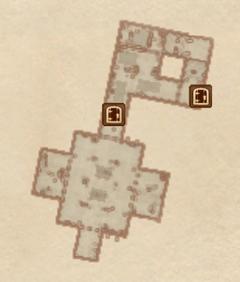 Замок Брумы - Темница. План