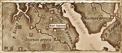 Форт Вариела (Карта)