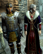 Uriel Septim VII and Glenroy