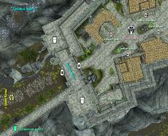 Грозовые ворота - план