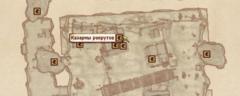 Казармы рекрутов - карта