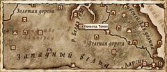 Неньонд Твилл. Карта