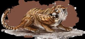Сенч-тигр (концепт-арт)