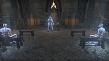 Шалидор выступает перед своими адептами