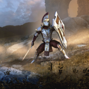 Legion Zero Templar card art