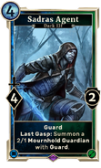 Sadras Agent (Legends) DWD