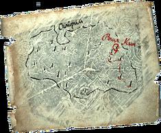 Карта драконьих захоронений