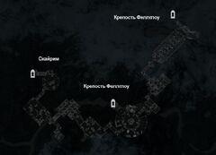 Крепость Феллглоу - Подземелья - план
