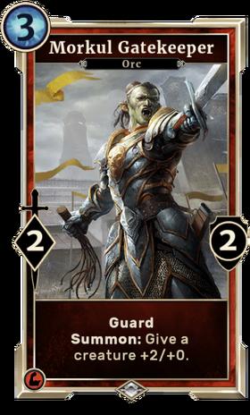 Card-Morkul Gatekeeper
