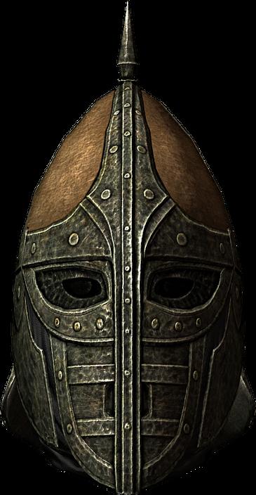 Image result for skyrim guards helmet transparent background