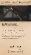 Steel Light Hammer