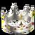 Иконка достижения (серебряная корона)